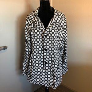Black/White Design Pettycoat